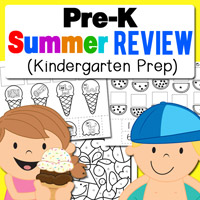 Pre K Summer Review