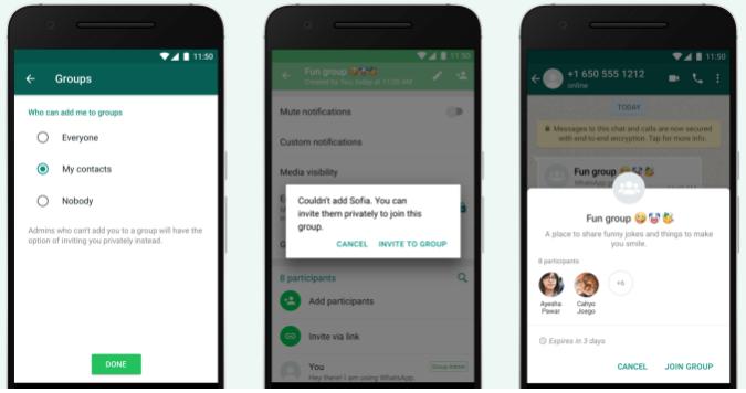 Cara Agar Tidak Otomatis Dimasukan kedalam Grup di WhatsApp