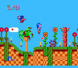 Indie Retro News: SEGA classic Sonic the Hedgehog on the NES as a