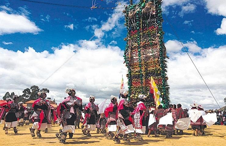destinos turisticos de chuquisaca bolivia tarabuco pujllay