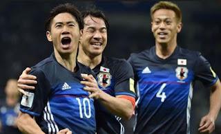 نتيجه مباراه اليابان وباراجواي اليوم 12-6-2018 انتهت بوز اليابان بنتيجه 4-2