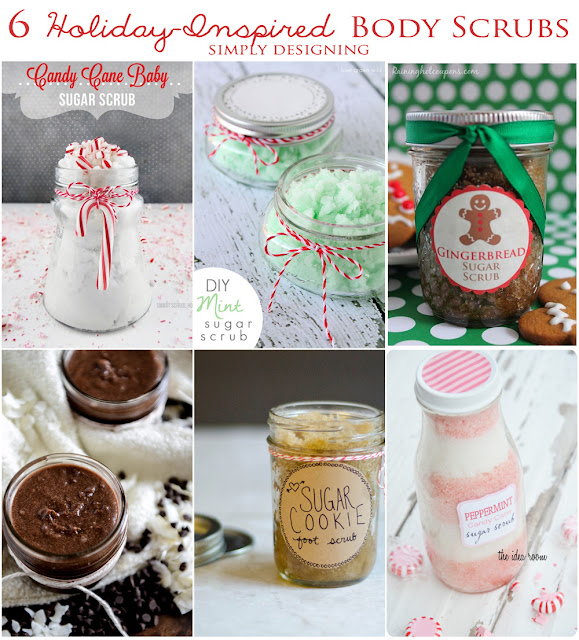 6 Holiday-Inspired Sugar Scrubs | #holiday #diygift #sugarscrub #bodyscrub #diybeauty #diyspa