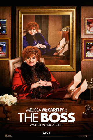 The Boss [2016] [DVDR] [NTSC] [Latino] [Unrated]