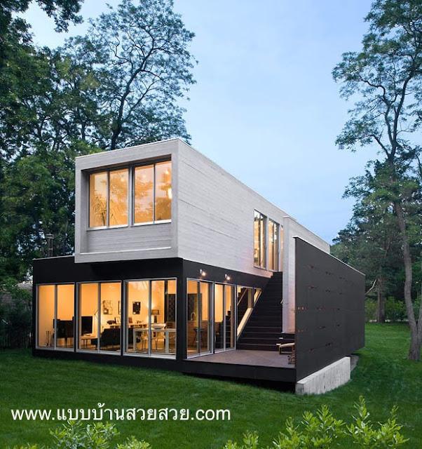 แบบบ้านสวยสวย 2 ชั้น TR01