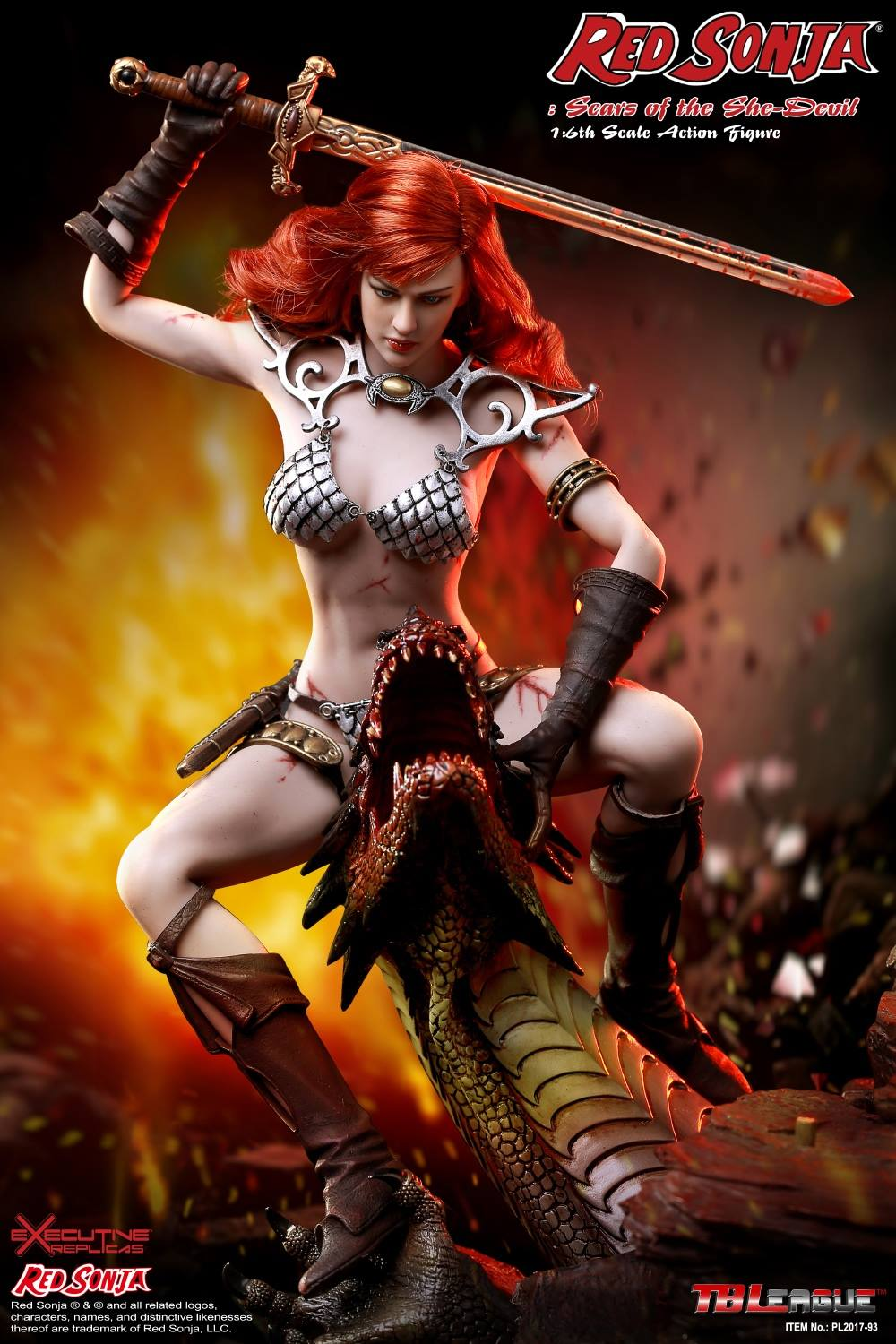 PHICEN - Red Sonja: Scars of the She-Devil  10