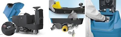 Căn nguyên khiến cho máy chà sàn liên hợp ngồi lái làm việc ko hiệu quả