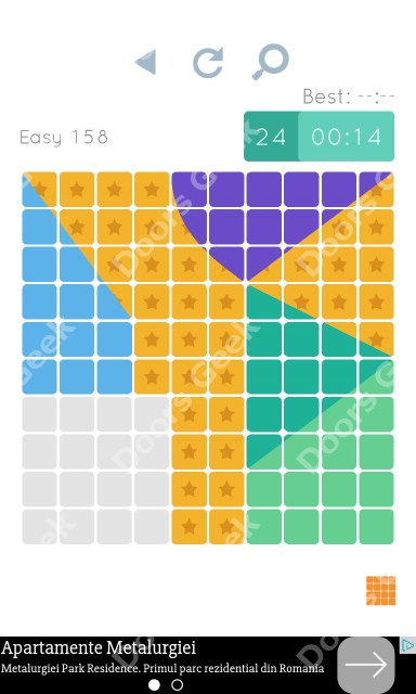 Cheats, Walkthrough for Blocks and Shapes Level 158