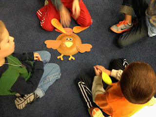 Turkey rhythms: Fun rhythm activity for Thanksgiving in the music room