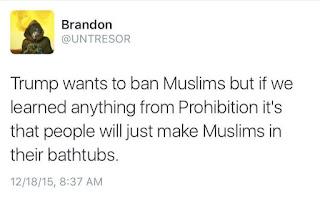 muslims in bathtubs