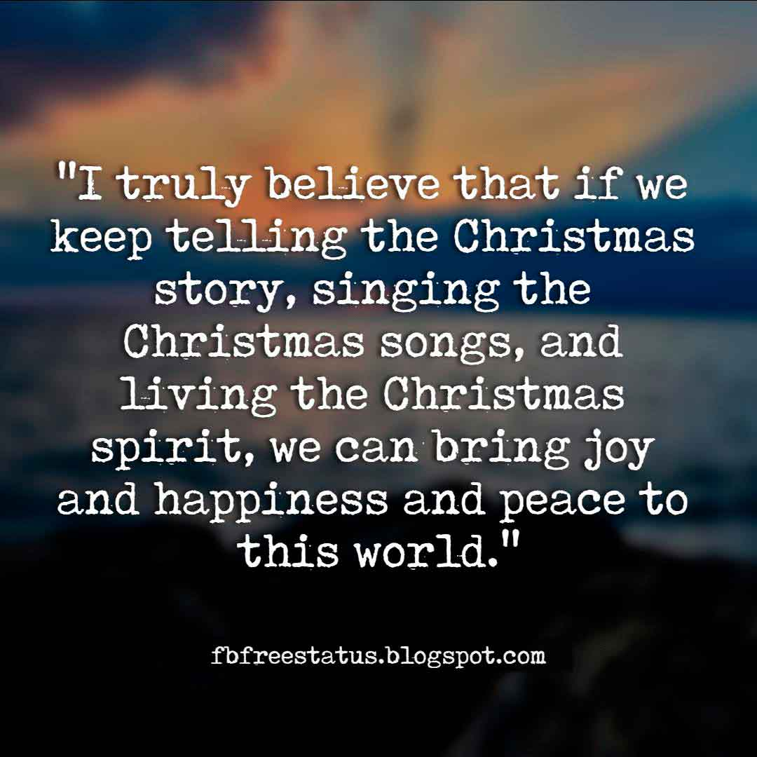 Inspirational Christmas Message, Quotes