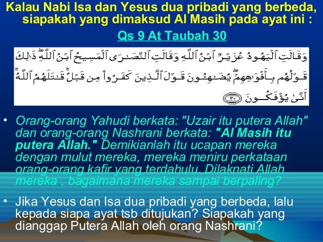 Subhanallah, Dalam Al-Qur'an Hanya Nabi Ini Yang Namanya Disambungkan Langsung pada Orang Tuanya