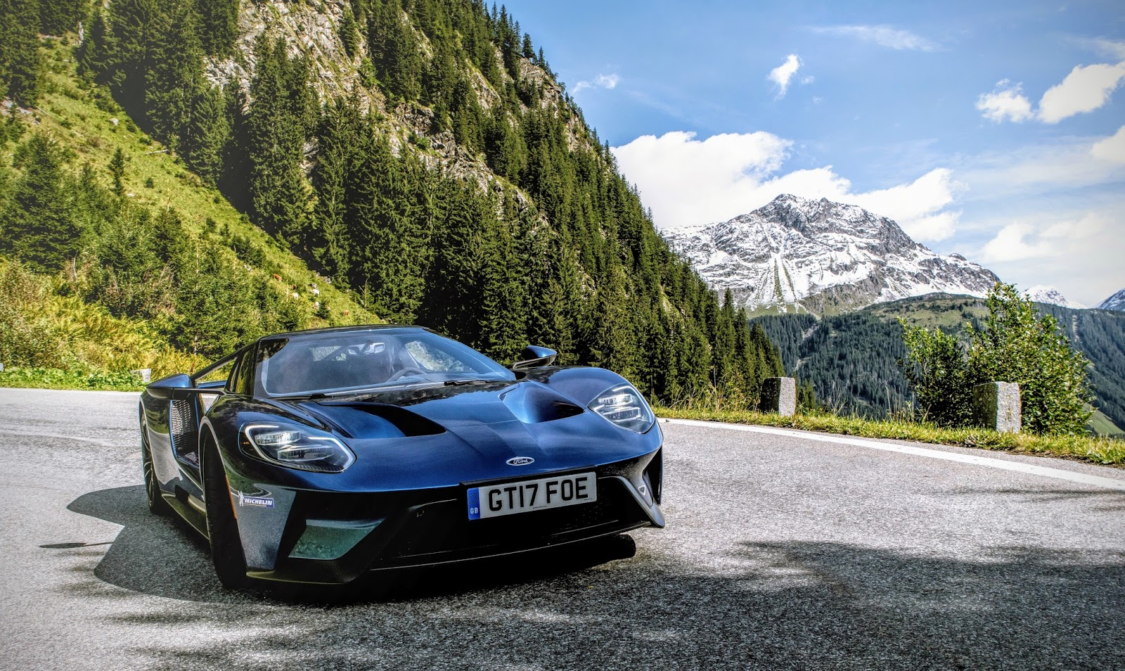 Spectacular Scenery In Europe Cut Through With Some Of Europes Greatest Driving Roads A Fitting Place Then To Discover The Charms Of The Ford Gt