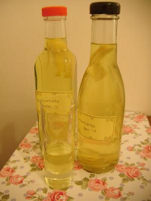Last Minute Limoncello Liqueur
