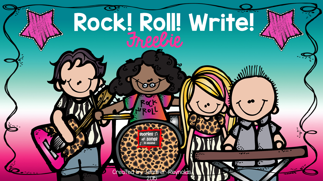 Rock, Roll, Write FREEBIE