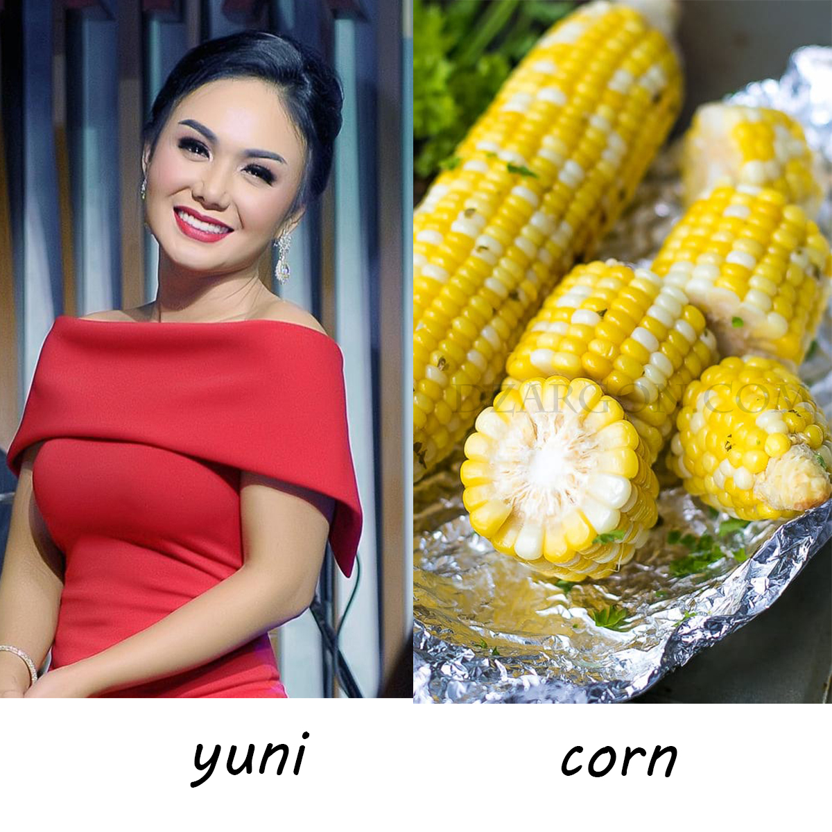 Unicorn itu gabungan dari Yuni Shara dan Jagung rebus