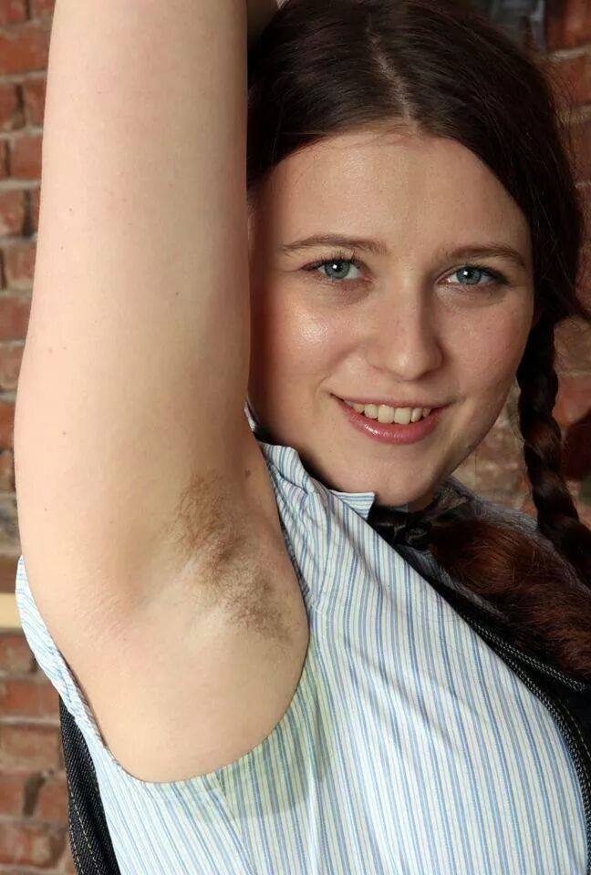 Is armpit hair the next big thing