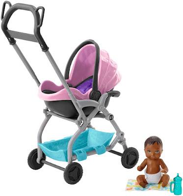 Barbie Skipper Babysitter Stroller Pink 2019
