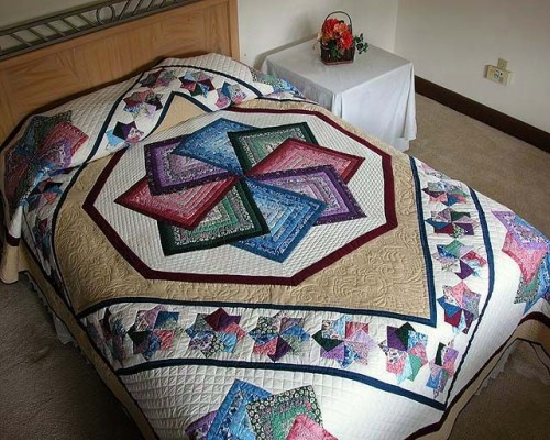 Star Spin Quilt - Free Pattern