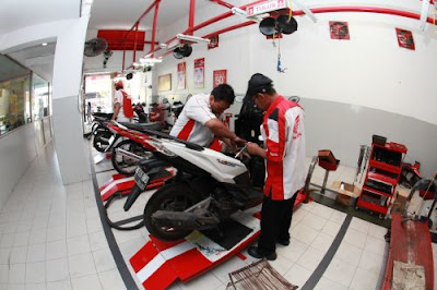 Sparepart Motor Honda