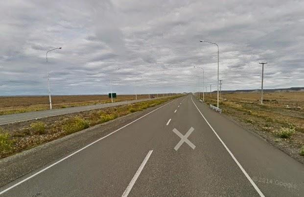 Ruta Nacional 3 in Patagonia