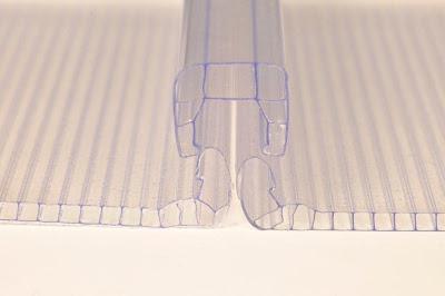 Policarbonato alveolar multi function cristal