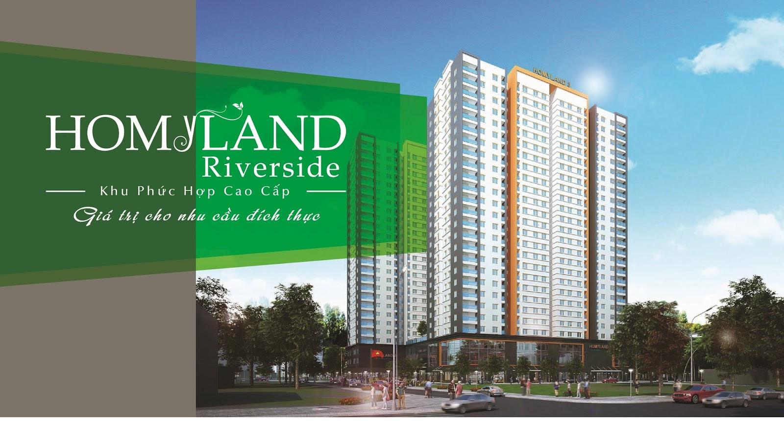 Homyland Riverside quận 2 – Khu phức hợp 3 mặt tiền đắc địa nhất quận 2. 2