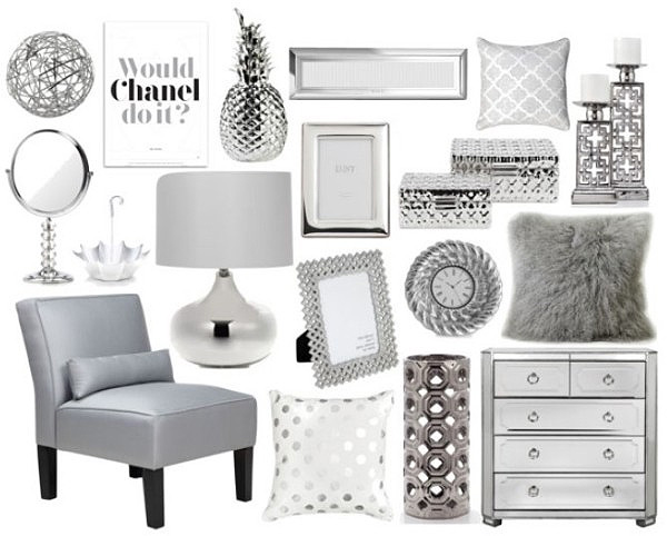 Interiors By Jacquin Decorating With Silver Tones