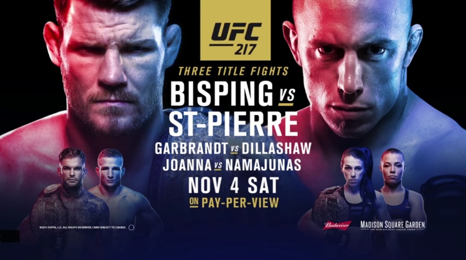 MICHAEL BISPING VS. GEORGES ST PIERRE 2