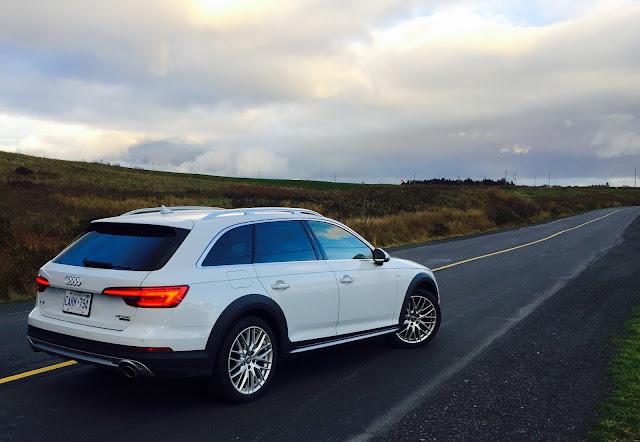 2017 Audi A4 Allroad Glacier White rear