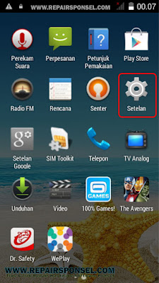 Cara Aktifkan USB Debugging Advan S5E Pro