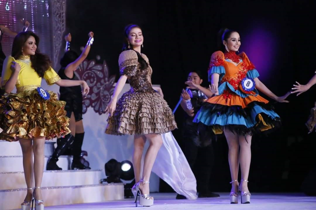 Will You Wear These Dresses Made of Native Materials? Miss Ibalong 2016