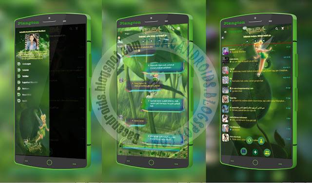 download BBM2 Mod Clone Versi 2.13.1.14 Tema TinkerBell