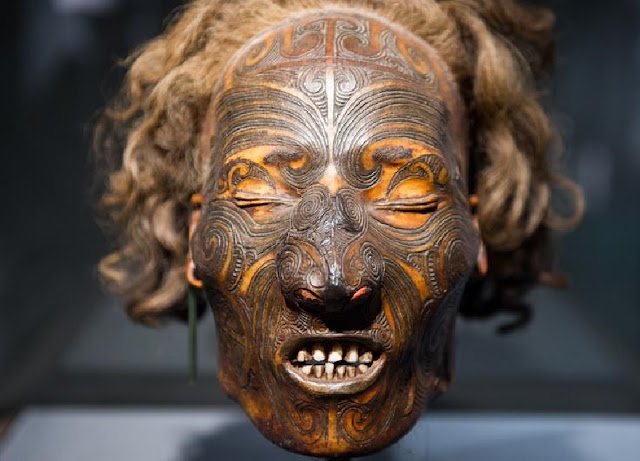 Germany returns tattooed Maori skull to New Zealand