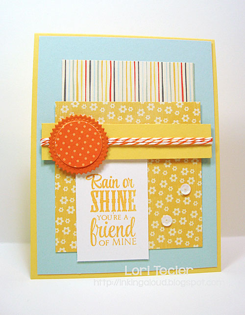Rain or Shine card-designed by Lori Tecler/Inking Aloud-stamps from Verve Stamps