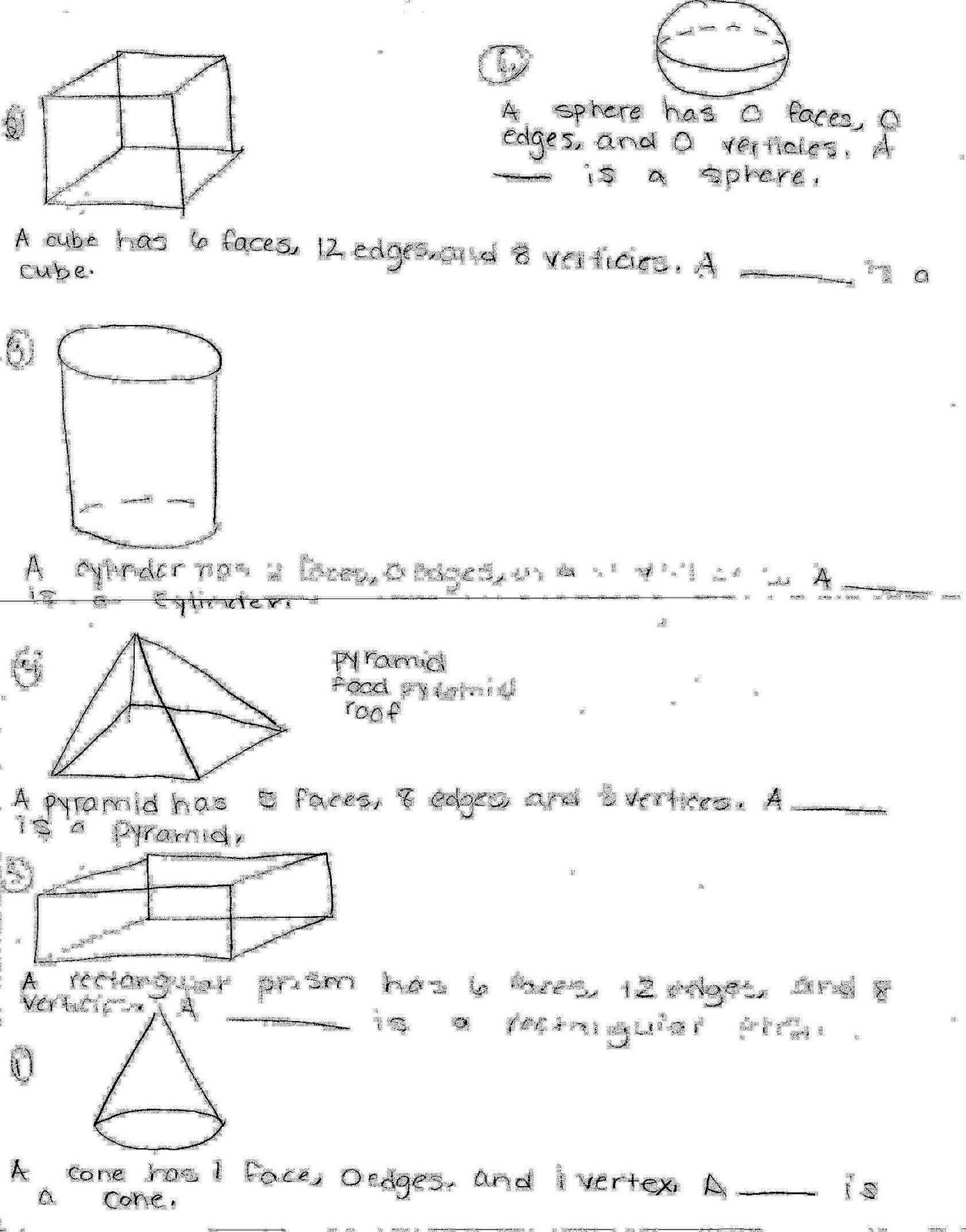 Primary Junction Solid Shapes Book