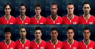 PES 2013 Facepack Costa Rica, Copa America 2016