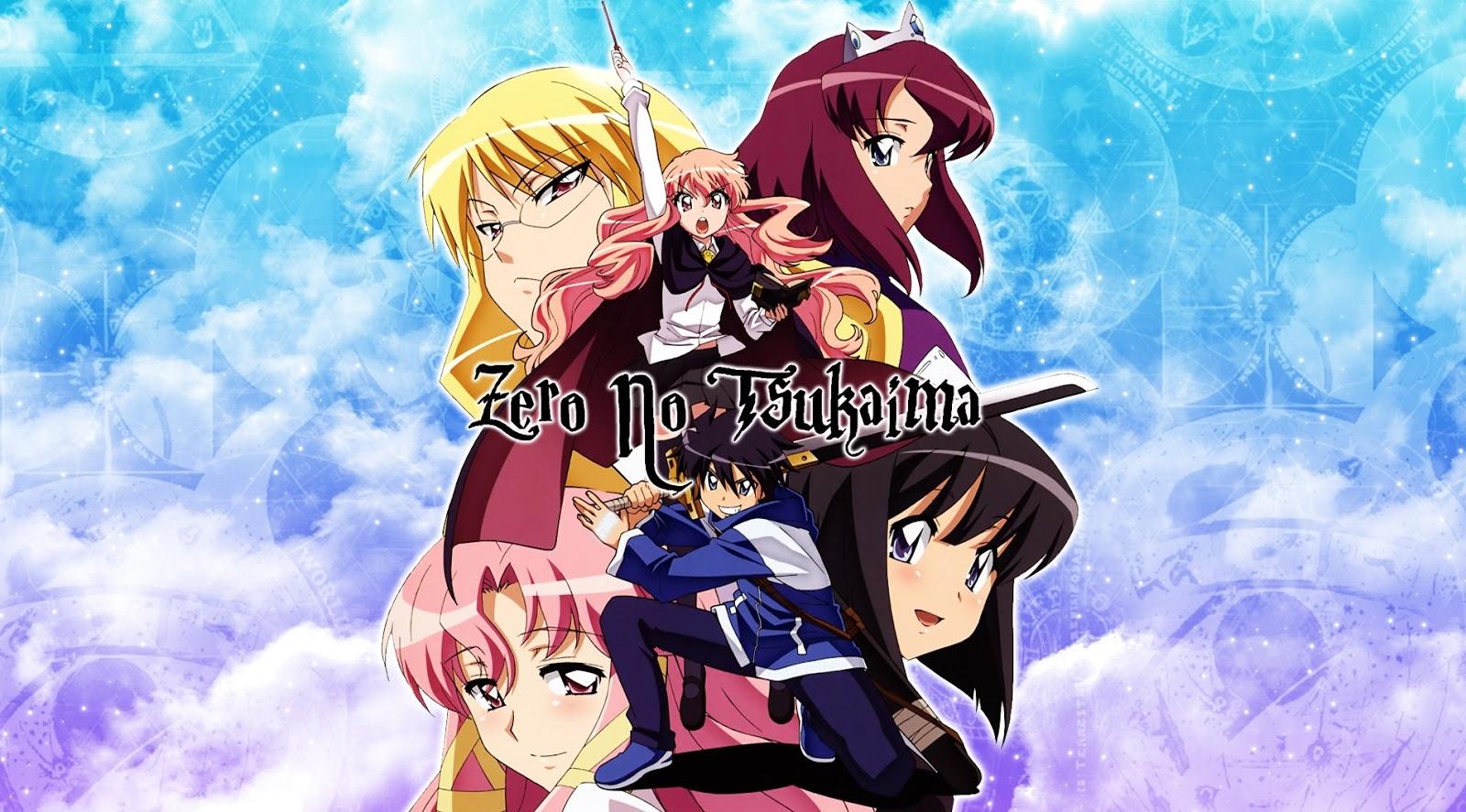 Zero no Tsukaima – Todos os Episódios