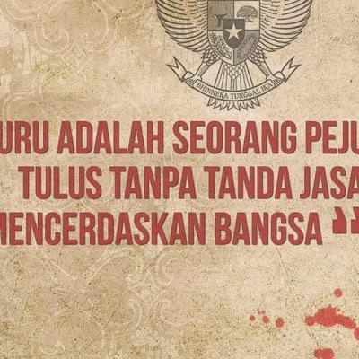 Banyak Guru Indonesia dipenjara