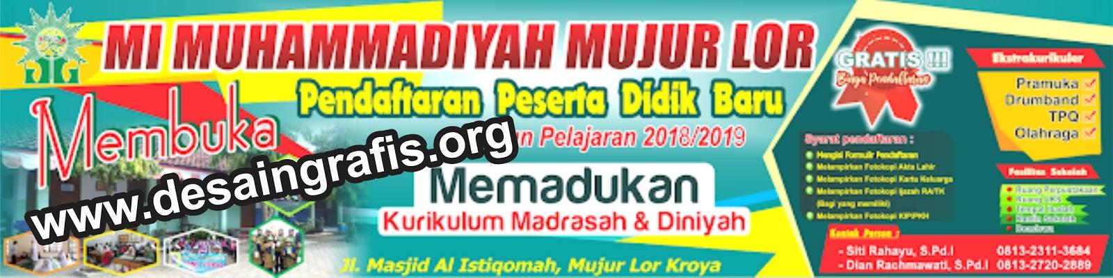 Desain Spanduk Banner PPDB Terbaru 2019/2020 | Kumpulan ...
