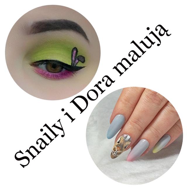 Snaily i Dora malują. Wielkanocny Zajączek.