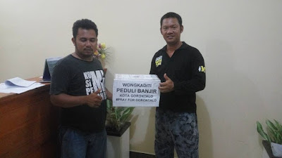 Banjir Gorontalo | Aktivis Kota Utara Bersiap Menggalang Bantuan Korban Banjir
