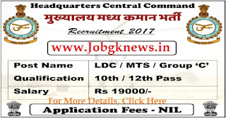 http://www.jobgknews.in/2017/10/headquarters-central-command-hcc.html