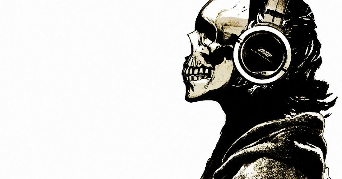 Scary wallpaper music skull wallpaper hd scary wallpapers - Scary skull backgrounds ...