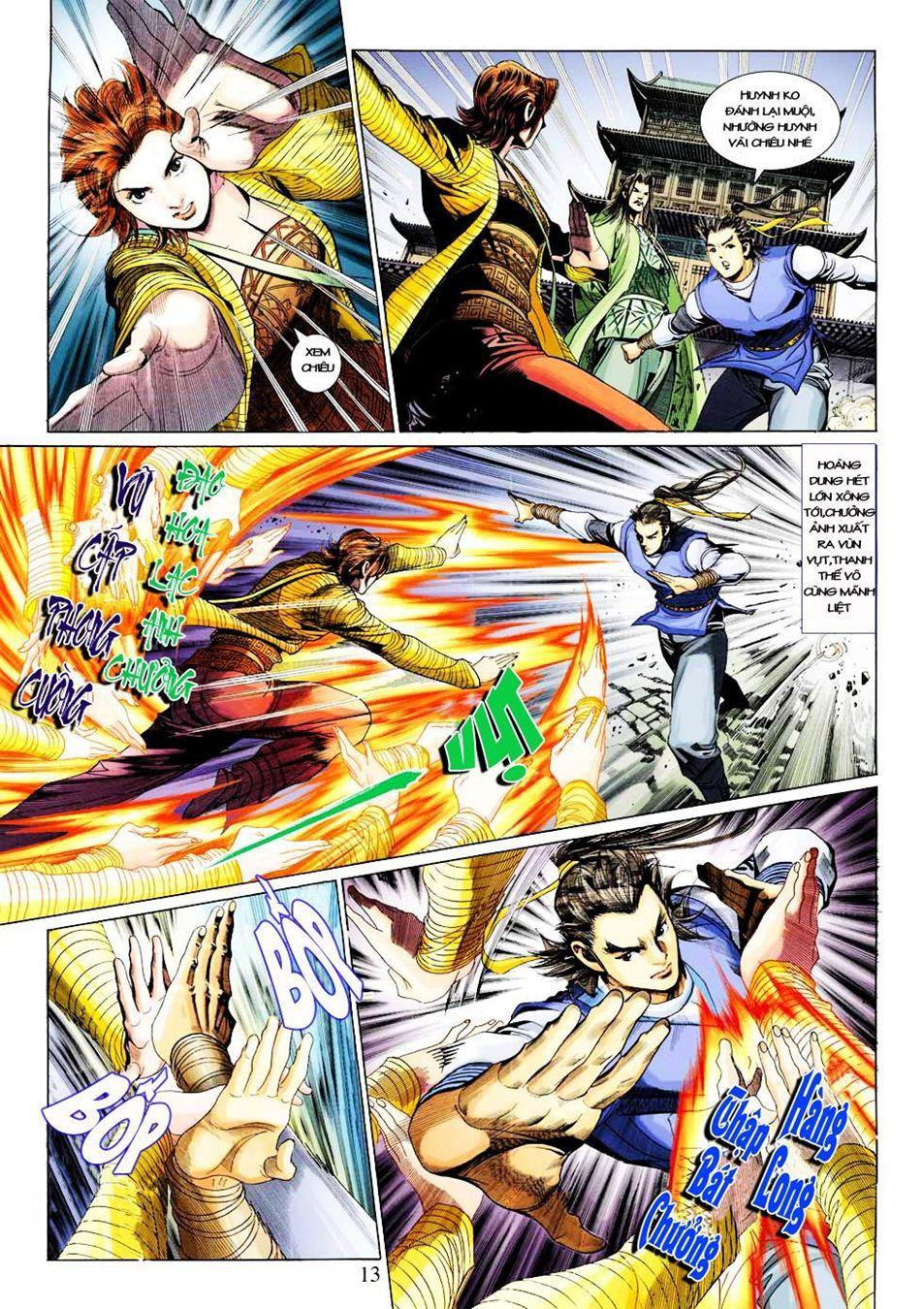Anh Hùng Xạ Điêu anh hùng xạ đêu chap 33 trang 13