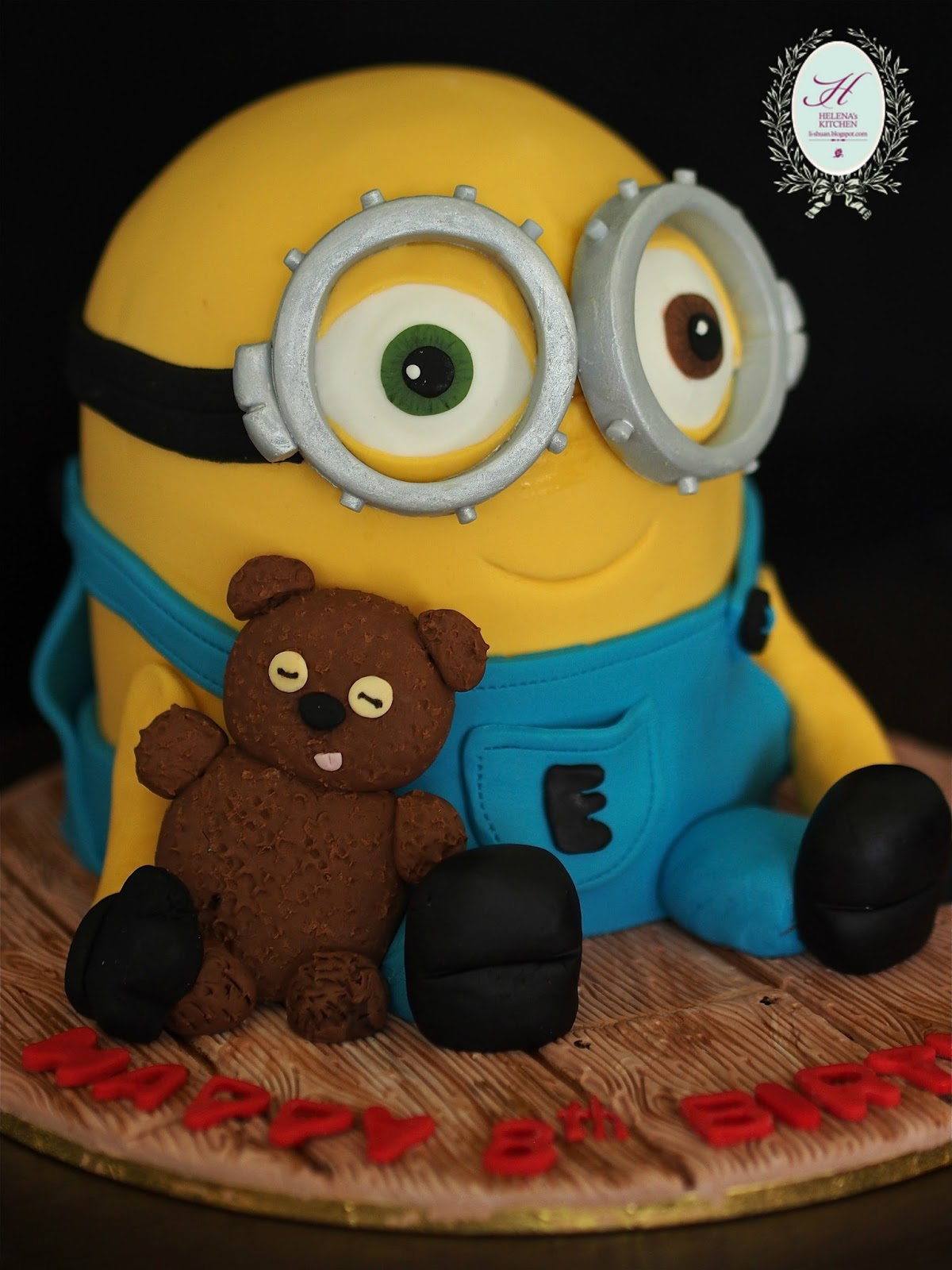 Helena S Kitchen Minion Cake