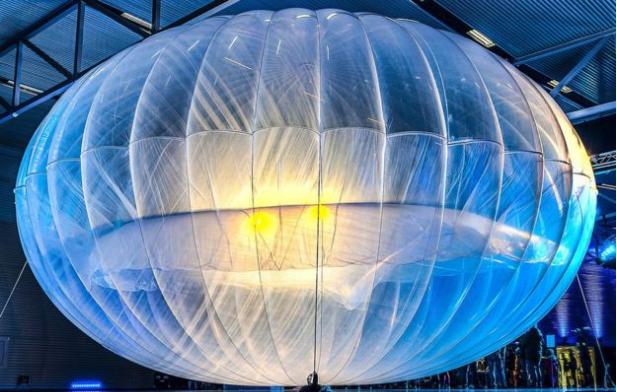 google loon ballon for internate