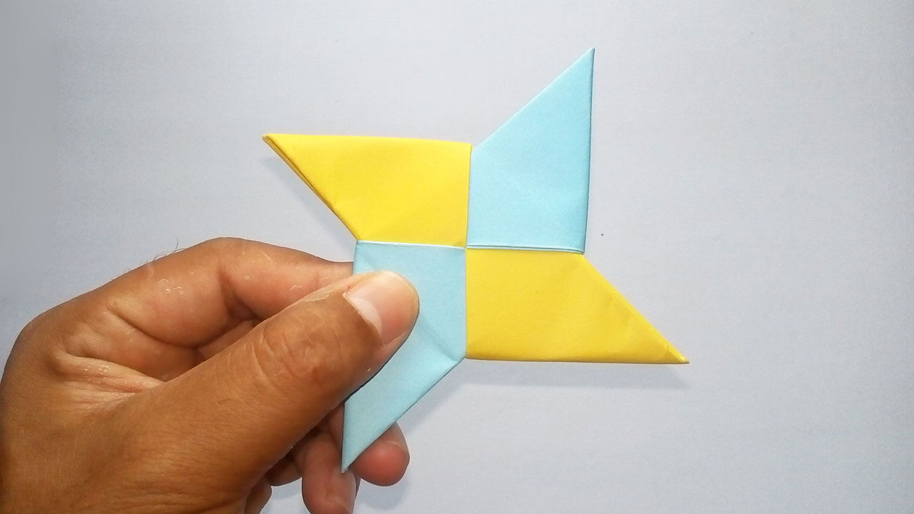 how to make paper ninja stars step by step | How to Make a Paper ... | 720x1280