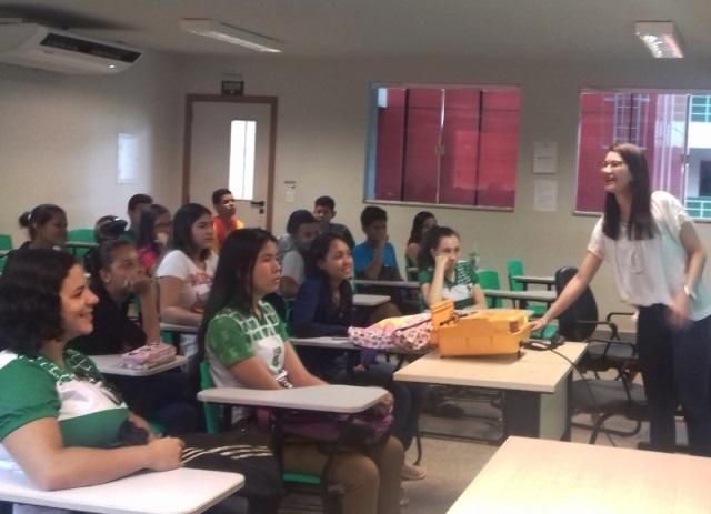 Campus Guajará-Mirim faz orientação sobre valorização da vida
