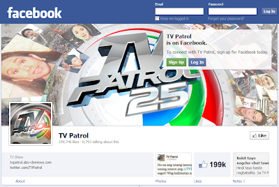 TV Patrol Facebook Timeline
