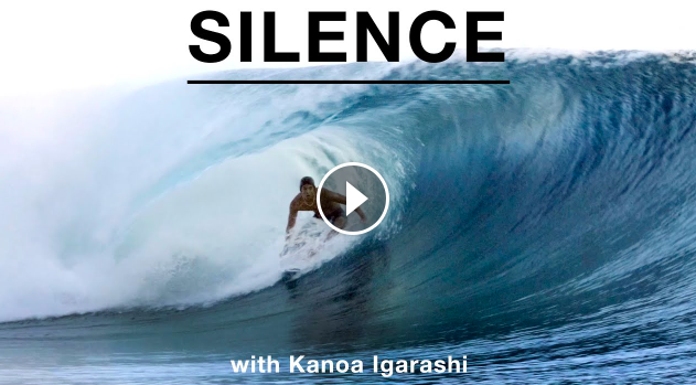 How Is He Everywhere All The Time Kanoa Igarashi Moves in Silence